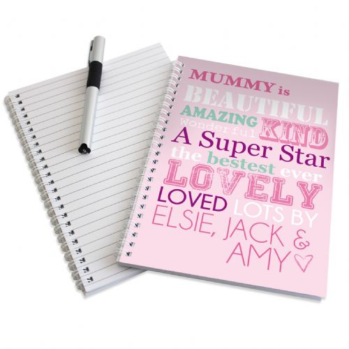 Personalised She Is A5 Notebook